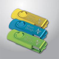 PENDRIVE CLASSIC METAL PLASTIC COLOR