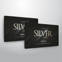 TESSERE PVC - CARDS 0,7 mm lucide + HOT-STAMPING