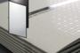 A4 210x297 mm con 2 pieghe a fisarmonica (chiuso 99x210 mm)