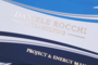 BIGLIETTI DA VISITA PLASTIFICATI SOFT-TOUCH FRONTE E RETRO + HOT-STAMPING